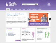 Public sector microsites | National Health Service